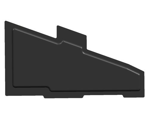 automotive door insulator cover